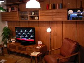 BRUNCH,BRUNCH+WORKS,家具屋,目黒通り,オーダー家具,リビング,2